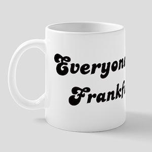 Loves Frankfurt Girl Mug