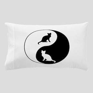 Yin Yang Cats Pillow Case
