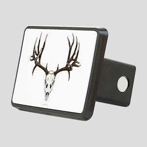 Deer skull Rectangular Hitch Cover
