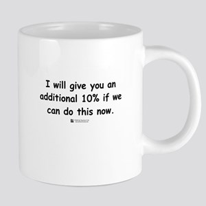 Additional 10% - Mugs