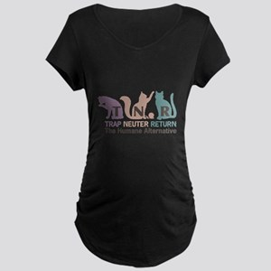 Trap Neuter Return Maternity Dark T-Shirt
