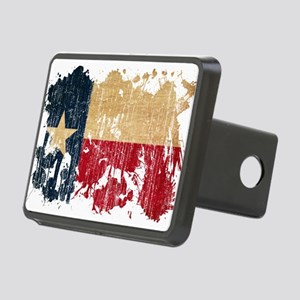 Texas Flag Rectangular Hitch Cover