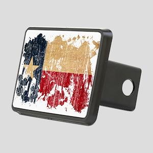 Texas Flag Rectangular Hitch Cover