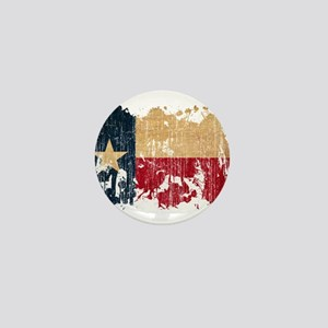 Texas Flag Mini Button