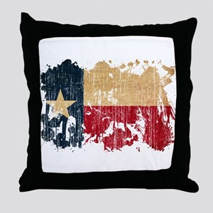 Texas Flag Throw Pillow