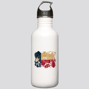 Texas Flag Stainless Water Bottle 1.0L