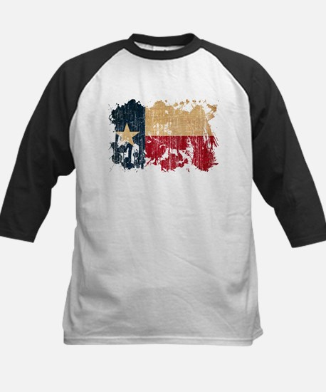Texas Flag Kids Baseball Jersey