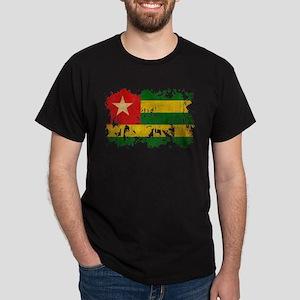 Togo Flag Dark T-Shirt
