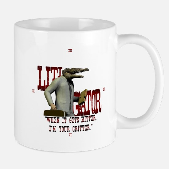 Litigator Attorney Mug