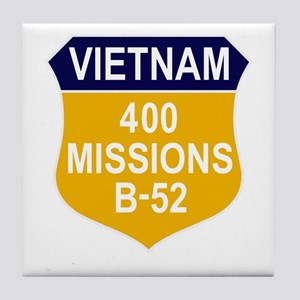 400 Missions Tile Coaster