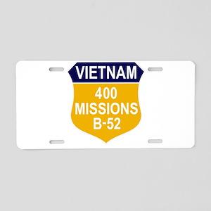 400 Missions Aluminum License Plate