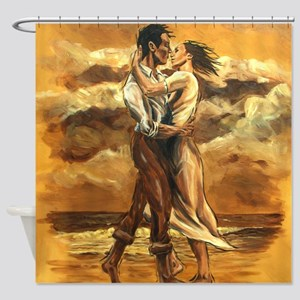 Lover's Embrace Shower Curtain
