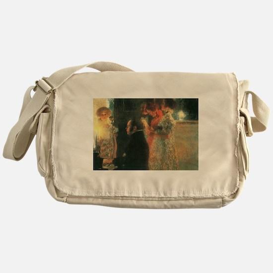Schubert by Klimt Messenger Bag