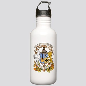 Kaniac Crest English Motto Stainless Water Bottle