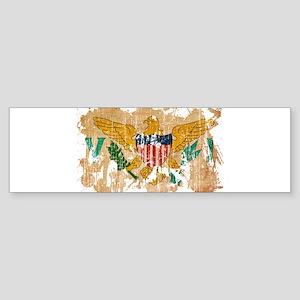 Virgin Islands Flag Sticker (Bumper)