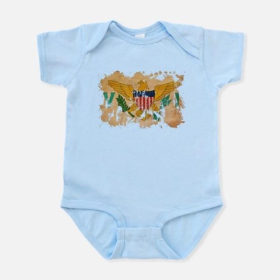 Virgin Islands Flag Infant Bodysuit