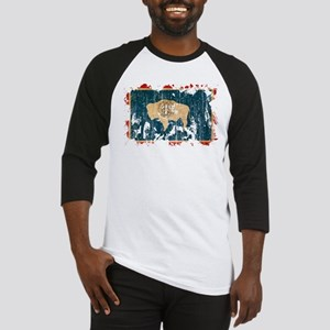 Wyoming Flag Baseball Jersey