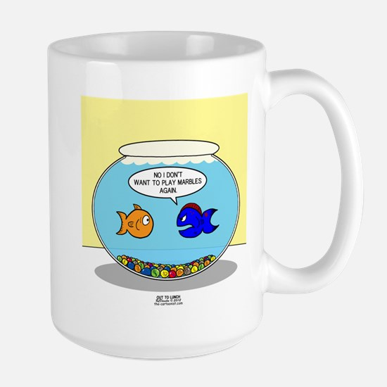 OTL Fishbowl Marbles Large Mug