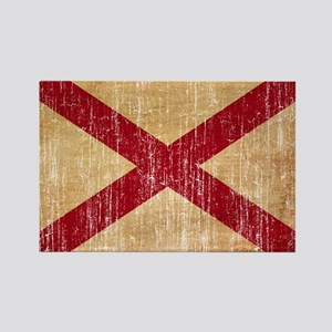 Alabama Flag Rectangle Magnet