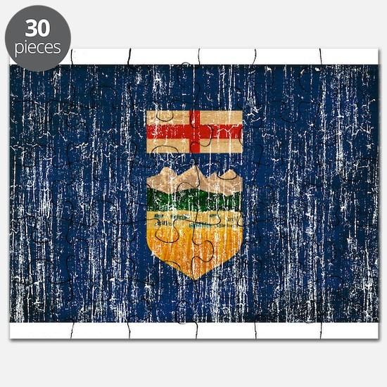 Alberta Flag Puzzle