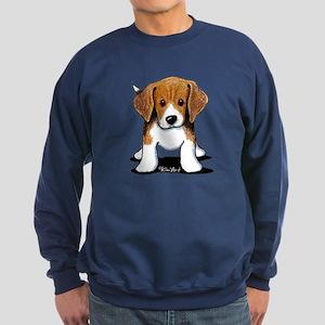 Beagle Puppy Sweatshirt (dark)