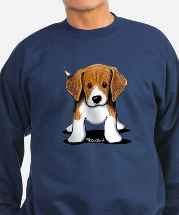 Beagle Puppy Sweatshirt (dark)