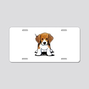 Beagle Puppy Aluminum License Plate