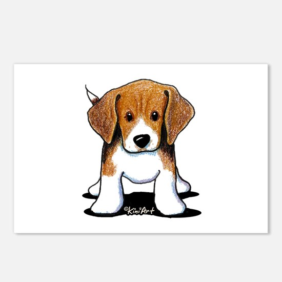 Beagle Puppy Postcards (Package of 8)