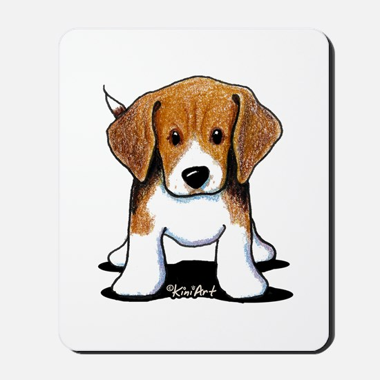 Beagle Puppy Mousepad