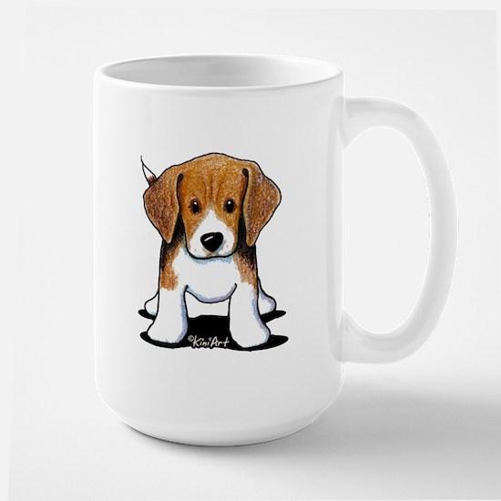 Beagle Puppy Large Mug