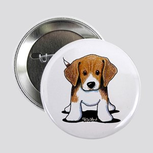 "Beagle Puppy 2.25"" Button"