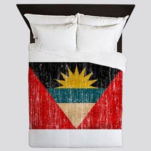 Antigua and Barbuda Flag Queen Duvet