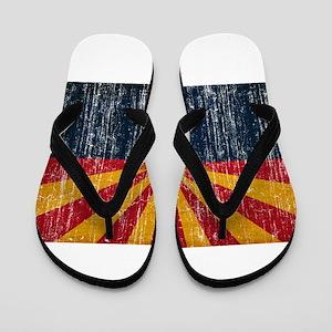 Arizona Flag Flip Flops