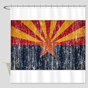 Arizona Flag Shower Curtain