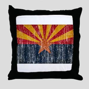 Arizona Flag Throw Pillow