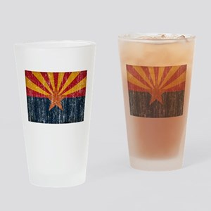 Arizona Flag Drinking Glass