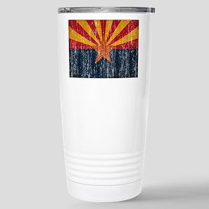 Arizona Flag Stainless Steel Travel Mug