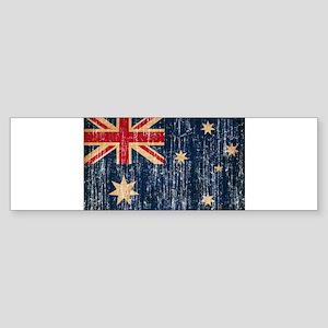 Australia Flag Sticker (Bumper)
