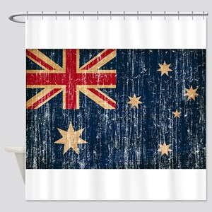 Australia Flag Shower Curtain