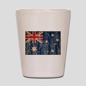 Australia Flag Shot Glass