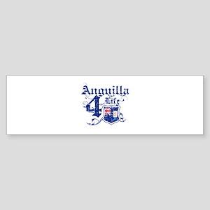 Anguilla for life designs Sticker (Bumper)