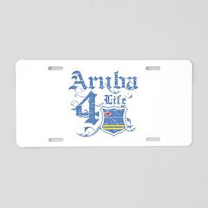 Aruba for life designs Aluminum License Plate