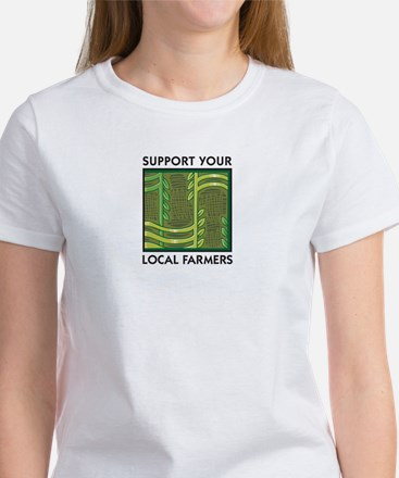 Support Your Local Farmers Women's T-Shirt