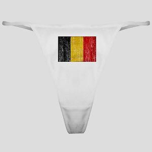 Belgium Flag Classic Thong