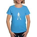 Scuba Diver Silhouette (F) Women's Dark T-Shirt