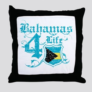 Bahamas for life designs Throw Pillow