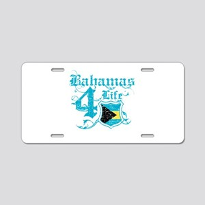 Bahamas for life designs Aluminum License Plate