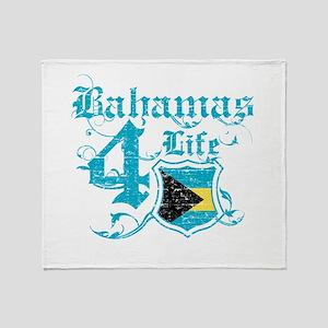 Bahamas for life designs Throw Blanket