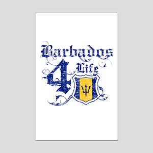 Barbados for life designs Mini Poster Print