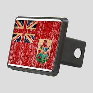 Bermuda Flag Rectangular Hitch Cover